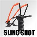 【RSBOX】アームホールド付きスリングショット スチール弾セット パチンコ