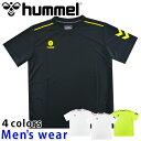 ★メール便送料無料★ hummel ヒュンメル 半袖 ドライ Tシャツ HAY2100A メンズ トレーニング ジム