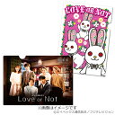 Love or Not ポスタービジュアル&ピョン次郎 クリアファイル 2枚セット