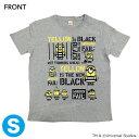 【フジテレビ限定】怪盗グルーのミニオン大脱走 ミニオンTシャツ YELLOW IS THE NEW BLACK Sサイズ