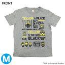 【フジテレビ限定】怪盗グルーのミニオン大脱走 ミニオンTシャツ YELLOW IS THE NEW BLACK Mサイズ