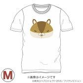 アニメ オフィシャルグッズ 紙兎ロペ アキラ先輩顔Tシャツ ホワイト Mサイズ