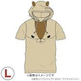 アニメ オフィシャルグッズ 紙兎ロペ なりきり半袖パーカー アキラ先輩 Lサイズ