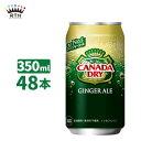 カナダドライジンジャーエール 350ml 缶 2ケース×24本入 送料無料