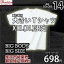 【Tシャツ 半袖 3L サイズ】大きいTシャツ カラー14色 ★ヒップホップ 重ね着に最適★『デザイン性と高品質Printstar/00083-BBT/ライトウェイト 無地 Tシャツ 激安 3L/メンズサイズ:XXL(3L)限定』