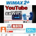 <往復送料無料> wifi レンタル 無制限 30日 WiMAX 2+ ポケットwifi WX03 Pocket WiFi 1ヶ月 レン...