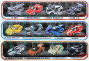 MSZ VROOM TECH エキゾチックカーコレクション 4台セット ダイキャストカー/セット/名車/外車/ミニカー/プルバックカー