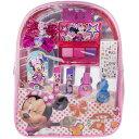 【訳あり/汚れあり】ディズニ− ミニーマウス 「コスメティックバックパック」 リュック型メイクセット/ Glammin' Backpack