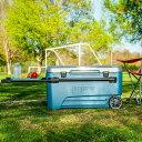 【送料無料♪】 IGLOO 110qt 車輪付き大型クーラーボックス ProGlide 110qt/104Lホイール、トレイ付き イグルー(イグロー)