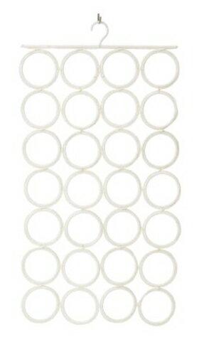 IKEA 【マルチユースハンガー】クローゼットの小物整理に!リング型