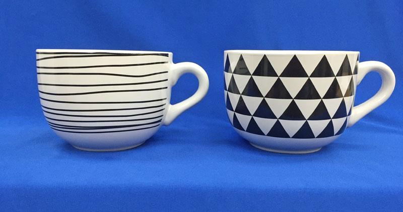 IKEA 【NAFFSA ジャンボマグカップ】730ml/直径13cm×高さ10cm シリアル、カフェオレなどに♪ジャンボカップ★超大型マグカップ