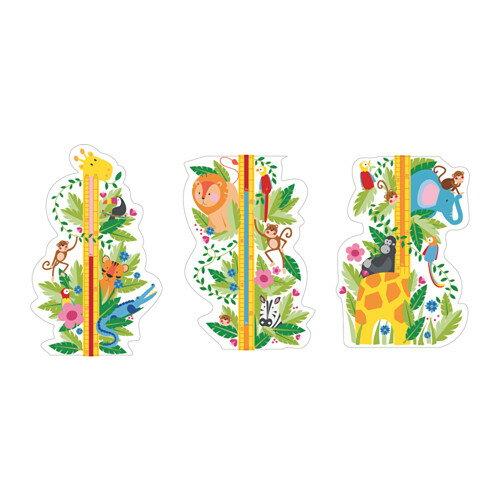 IKEA 【KLATTA】 デコレーションステッカー 身長計 イケア シールで貼り付け簡単♪ ジャングル/ウォールステッカー/シール