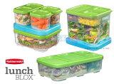 Rubbermaid 【Lunch BLOX パーフェクトパック!】 食品保存容器10個セット/保冷剤付き ラバーメイド ランチブロックシリーズ