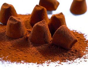 トリュフ チョコレート たっぷり