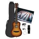 【※同梱不可商品】Inspired by Adam Levine キッズ アコースティックギター アダムレヴィーン ジュニアギタースターターパック