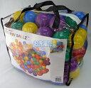 INTEX 【ボールプール用ファンボール100個セット】 直径約8cm 収納バッグ入り♪