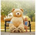 93インチ 2m36cm★超大きな大きなくまのぬいぐるみビッグサイズベア/クマ/熊/コストコ※代引き利用不可