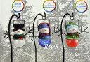 スノーマン ソーラーLEDライト 3個セット 屋外用差し込みタイプ クリスマス/吊り下げソーラーライト SNOWMAN コストコ