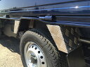 DA16T用 スズキ キャリイ標準車 リアフェンダーカバーアルミ縞板