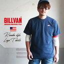 BILLVAN ダイヤロゴ ワッペン 鹿の子 Tシャツ ビルバン アメカジ