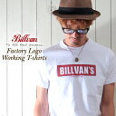 BILLVAN/ビルバン/ファクトリーロゴ/Tシャツ/0726/ユニセックス