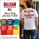 アメカジ Tシャツ BILLVAN ビルバン アメカジプリント半袖Tシャツ WORKING 726A メン
