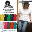PRESTONS/ヘビー&タフ/CottonUSA/半袖Tシャツ/12カラー/アメカジ/メンズ