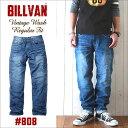 BILLVAN #808 レギュラーストレート ヴィンテージ...