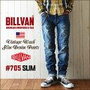 BILLVAN #705 スリムフィット ヴィンテージ加工 ...