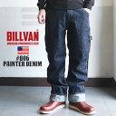 BILLVAN 806 ワンウォッシュペインターデニムパンツ ビルバン ジーンズ メンズ アメカジ