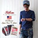 BILLVAN/スパンフライス/フィットスタイル/7分袖Tシャツ/アメカジ/パックシリーズ/カットソー