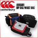 ☆ カンタベリー ラグビー ウエストバッグ HIP BAG AB05801 肩掛けバッグとしても使えるヒップバッグです トレーナーバッグ ブラック ミディアムグレー ロイヤルブルー Canterbury ☆