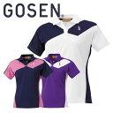 ゴーセン GOSEN レディース ゲームシャツ 半袖 バドミントン T1503