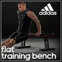 adidas フィットネストレーニング ADBE10232 フラットベンチ ダンベルレーニング adid