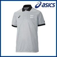 asics アシックス バスケットボール ウエア XB8000 レフリーシャツ 半袖 吸汗速乾 UVケア サイバードライの画像