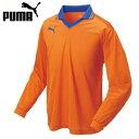 ☆◎PUMA(プーマ) サッカーウエア 862172 長袖ゲームシャツ オレンジxブルー 【残り1点】【メンズ】