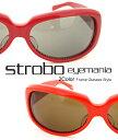 送料無料 ストロボ Strobo / 裏側にさりげないボーダーストライプをデザインを取り入れた サングラス 【 メンズ レディース サングラス メガネ アイウェア 伊達眼鏡 uvカット おしゃれ 敬老の日 】