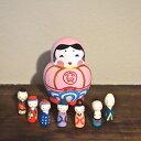 KIMURA&Co.手作りマトリョーシカ『宝船』七福神の陶器入り【マトリョーシカ】