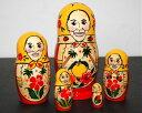 宮崎県知事東国原マトリョーシカ『マトリョーシカのコスプレ』5個組 16cm