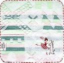 【楽ギフ_包装】泉州タオル ジャガード織タオルシンジカトウ~Ballet バレエ~タオルチーフ「フェッテ ドン・キホーテ」23×23cm ハンカチ【定型外郵便可】