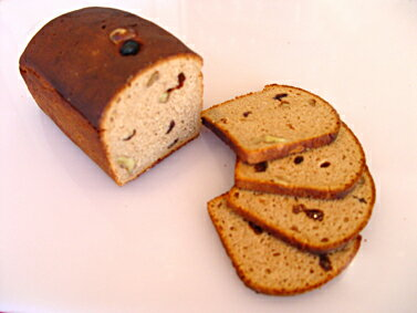 黒パン・ライ麦90%クルミ&レーズン入りベーカリーから直送【黒パン】送料無料対象外