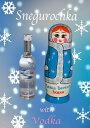 雪娘さんマトリョーシカ木製ボトルケース入りウォッカミニボトル「ホワイトバーチ」