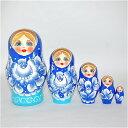 ロシアマトリョーシカ 5個組 1...
