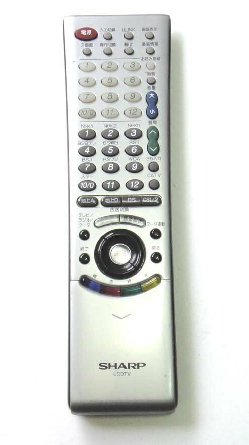シャープ 液晶テレビ リモコン GA171WJSA