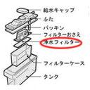 【在庫あり】 シャープ 冷蔵庫用 浄水フィルター 2013370037  送料無料