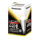 全国一律送料498()(ただし、沖縄県・離島を除く)即納 パナソニック EVERLEDS(エバーレッズ) LED電球 小形電球タイプ 6.4W 電球色 LDA6LHE17