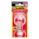 【在庫あり】 パナソニック LDS100V36W・C・L クリア 40W形長寿命ミニ電球