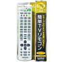 【在庫あり】 オーム 簡単TVリモコン シャープ AV-R300N-SH 送料無料