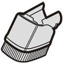 【在庫あり】 シャープ 掃除機 サイクロンクリーナー用 ベンリブラシ 217936S010