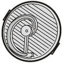 【在庫あり】 シャープ 掃除機用HEPAクリーンフィルター 旧品番 2173370441 代替品 2173370475